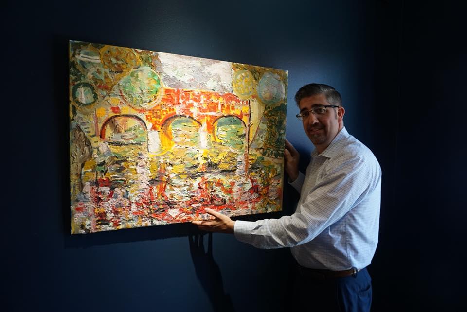 35126905_434050440399585_2492773480722857984_n Piktura e Rron Qenës ekspozohet në Blanden Art Museum në Iowa (FOTO)